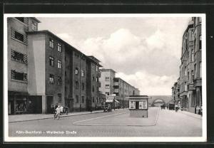 AK Köln-Buchforst, Bauhaus-Siedlung Weisse Stadt, Waldecker Strasse