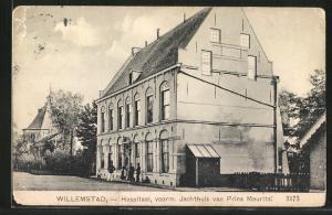 AK Willemstad, Hospitaal, voorm. Jachthuis van Prins Maurits