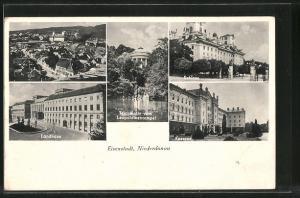 AK Eisenstadt, Kaserne, Schloss, Landhaus