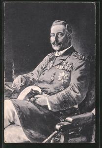 Künstler-AK Willy Stoewer: Kaiser Wilhelm II. als Grossadmiral