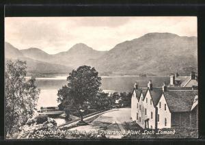 AK Inversnaid / Loch Lomond, Arrochar Mountains from Inversnaid Hotel