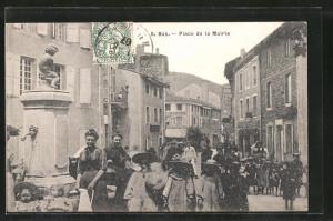 AK Bas, Place de la Mairie