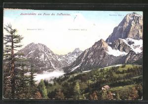 AK Austriahütte, Berghütte am Fusse des Dachsteins