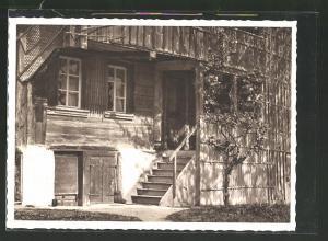 AK Kaltbrunn, Eingang eines Bauernhauses