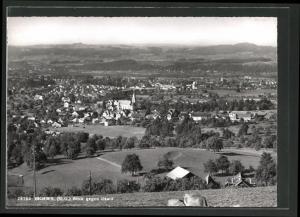AK Bichwil, Panoramablick gegen Uzwil