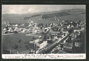 AK Porrentruy, Vu depuis la Tour du Chateau
