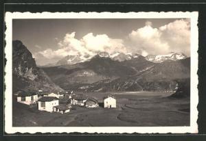 AK Sils im Engadin, Blick auf Alp Grevasalvas