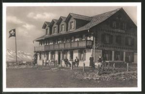 AK Rigi-Scheidegg, Kurhaus-Pension Burggeist
