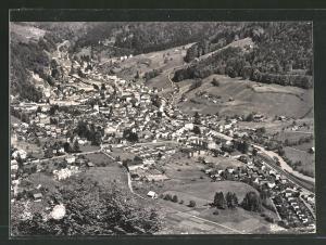 AK Schwanden, Panoramablick auf die Stadt