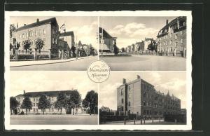 AK Neumünster, Kaserne mit  am Eingang