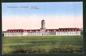 AK Kaiserslautern, Kaserne im Abendlicht