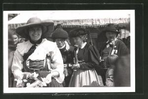 AK Bludenz, Damen beim Bundestrachtenfest