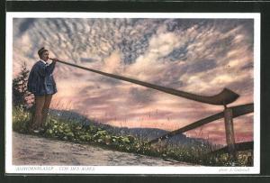 AK Alphornbläser, Cor des Alpes