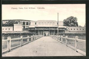 AK Calcutta, Plassey Gate, Fort William