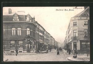 AK Charleroi, Rue Neuve, Strassenpartie