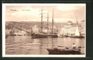AK Trieste, Riva Carciotti, Hafen