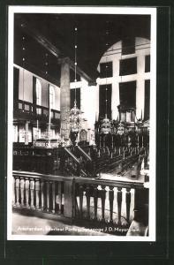 AK Amsterdam, Interieur Portug. Synagoge J. D. Meyerplein