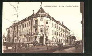 AK Balassagyarmat, M. kir. Penzügyi palota
