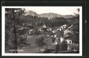 AK Auland, Ortspanorama vom Berg aus gesehen