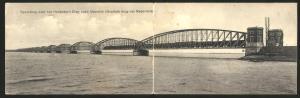 Klapp-AK Moerdijk, Spoorbrug over het Hollandsch Diep