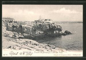 AK Peniche, Trecho da fortaleza e Alto da Vela