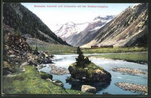 AK Krimml, Achental und Unlassalm mit Dreiherrenspitze