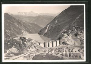 AK Kaprun, Bau der Limberg-Talsperre