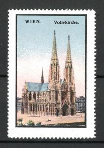 Reklamemarke Wien, Votivkirche