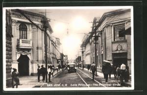 AK San José, Calle Principal - The Principal Street