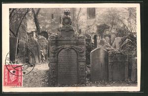 AK Praha / Prag, Jüdischer Friedhof