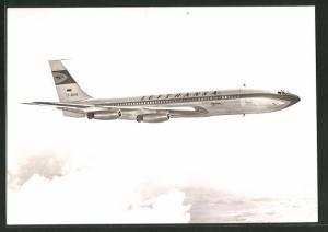 AK Flugzeug Boeing 707 der Lufthansa im Flug