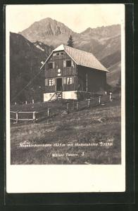 AK Neunkirchnerhütte mit Hochstubofen, Wölzer Tauern