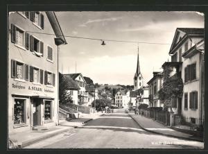 AK Wald, Spenglerei v. A. Stark in der Tösstalstrasse