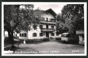 AK Brandenburg, Partie am Gasthof Ascher