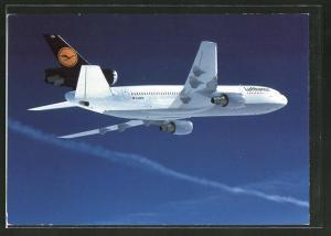 AK McDonnell Douglas DC 10 von Lufthansa im Flug