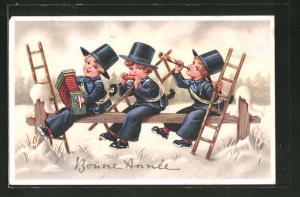 AK Schornsteinfeger beim Musizieren