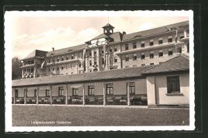 AK Bludesch, Lungenheilstätte Gaisbühel, Teilansicht mit Liegehalle