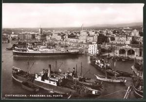 AK Civitavecchia, Panorama dal Porto