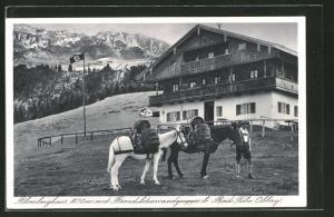 AK Blomberghaus, Benediktenwandgruppe,