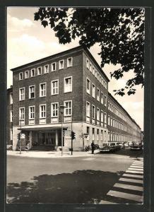 Foto-AK Münster in Westfalen, Raphaelsklinik