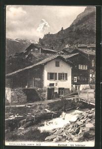 AK Zermatt, Un Intérieur
