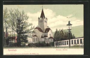 AK Rorschach, Blick auf die Protestantische Kirche