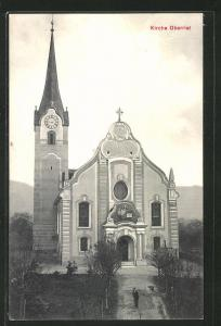 AK Oberriet, Blick auf die Kirche