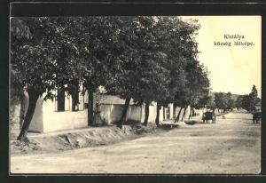 AK Kistálya, Község látképe