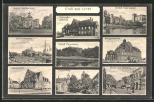 AK Lünen, Bahnhofsgebäude, Zeche Viktoria, Cappenberg & Schloss Buddenburg