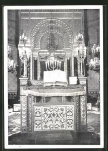 AK Florence, die jüdische Synagoge, Innenansicht