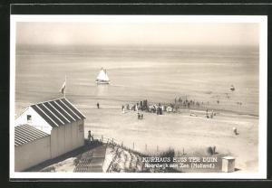 AK Noordwijk aan Zee, Badegäste am Strand