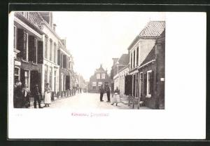 AK Grouw, Dorpsstraat, Strassenpartie