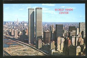 AK New York, NY, World Trade Center