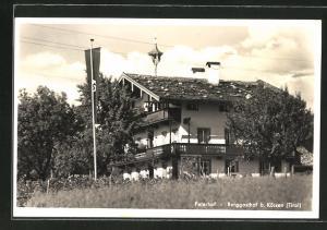 AK Kössen, Berggasthof Peternhof mit